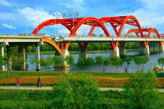 吉林江灣大(da)橋